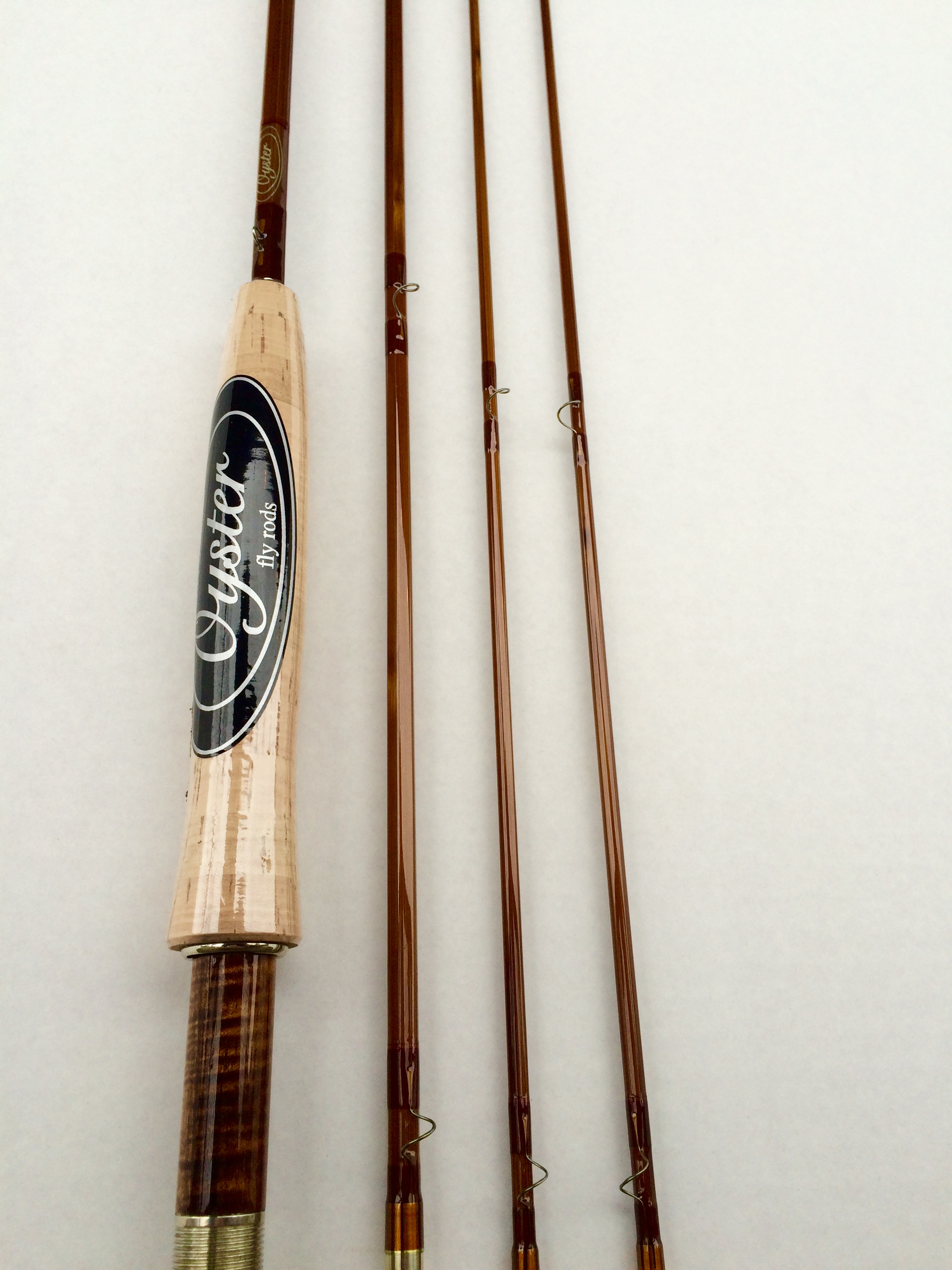 Oyster bamboo fly rod for sale for Bamboo fly fishing rod