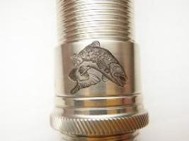 leaping trout hand engraved by William